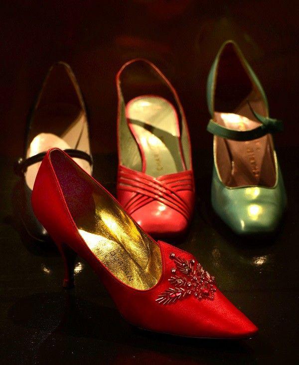La marque Seducta de Charles Jourdan au musée international de la chaussure de Romans  (PHOTOPQR/LE PROGRES)