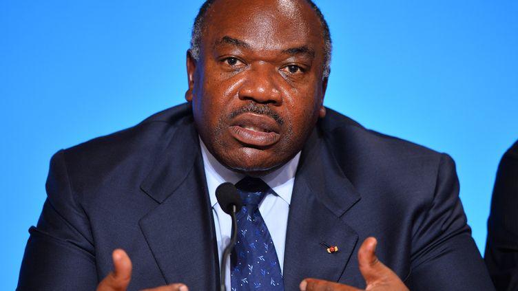 Le président gabonais, Ali Bongo, le 10 novembre 2015 lors de la COP 21, à Paris. (MUSTAFA YALCIN / ANADOLU AGENCY)