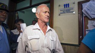 Alain Castany après une audience au tribunal de Saint-Domingue, le 17 juin 2014. (ERIKA SANTELICES / AFP)