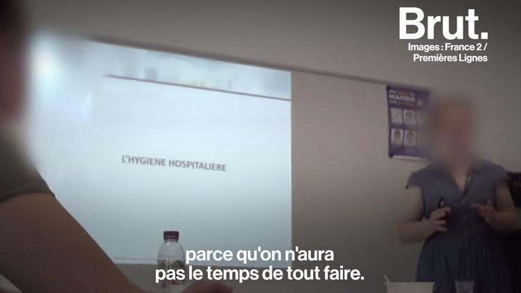 VIDEO. Le quotidien d'un agent de propreté à l'hôpital de Valenciennes (BRUT)