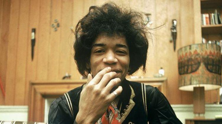 Là où il est, Jimi Hendrix lui même en rit sans doute... Ici en 1967 aux Pays-Bas.  (ANP/AFP)