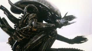 "Le monstre Alien dans le film de Ridley Scott ""Alien, le huitième passager"", sorti en 1979.  (SCREEN PROD / AFP)"