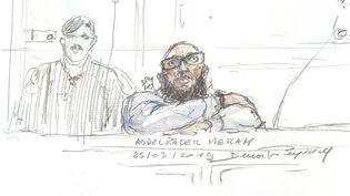 En 2017,Abdelkader Merah avait été condamné à 20 ans de réclusion criminelle et acquitté des faits de complicité. (BENOIT PEYRUCQ / AFP)