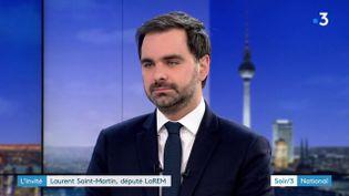 Laurent Saint-Martin (LREM) (France 3)