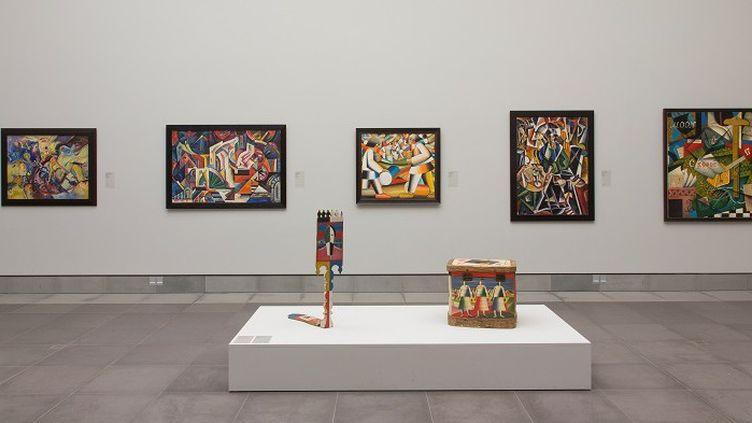 Exposition d'oeuvres de l'Avan-garde russe au Musée des Beaux-Arts de Gand retirées pour expertise (janvier 2018)  (Musée des Beaux-Arts de Gand (belgique))