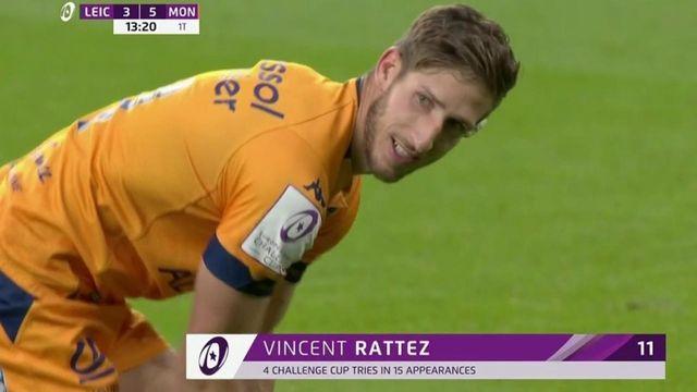 Challenge Cup - Finale : Montpellier prend l'avantage grâce à un essai de Vincent Rattez