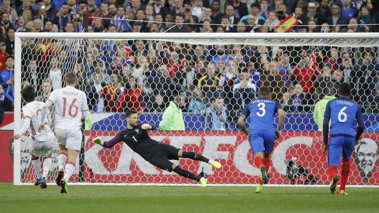 David Silva a ouvert le score sur penalty (STEPHANE ALLAMAN / STEPHANE ALLAMAN)