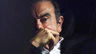 Carlos Ghosn, l'ex-PDG de Renault-Nissan, le 6 mars 2019 à Tokyo (Japon). (KENTARO AOYAMA / YOMIURI / AFP)