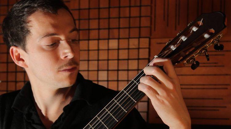 Le guitariste français Thibault Cauvin (COTTEREAU FABIEN / PHOTOPQR / SUD OUEST / MAXPPP)