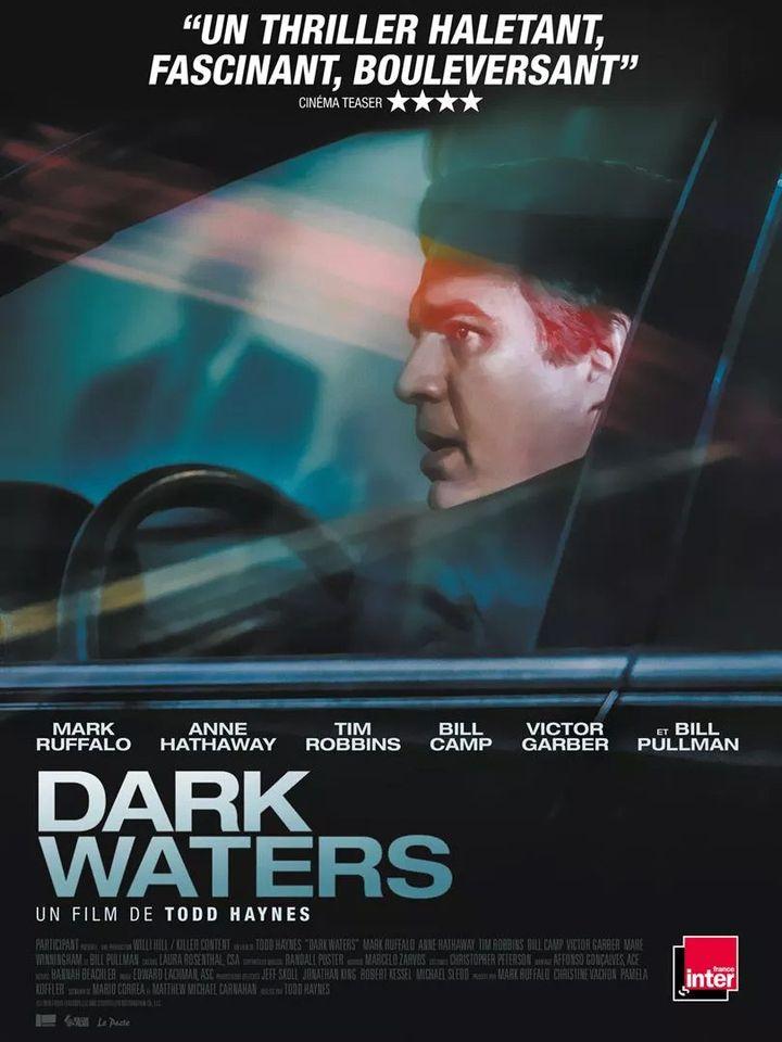 """L'affiche de """"Dark Waters"""" de Todd Haynes. (Le Pacte)"""