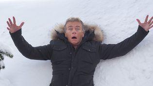 """A l'Alpe-d'Huez, où il préside le festival, Franck Dubosc évoque son premier film de réalisateur : """"Tout le monde debout"""".  (Laurent Vu/SIPA)"""