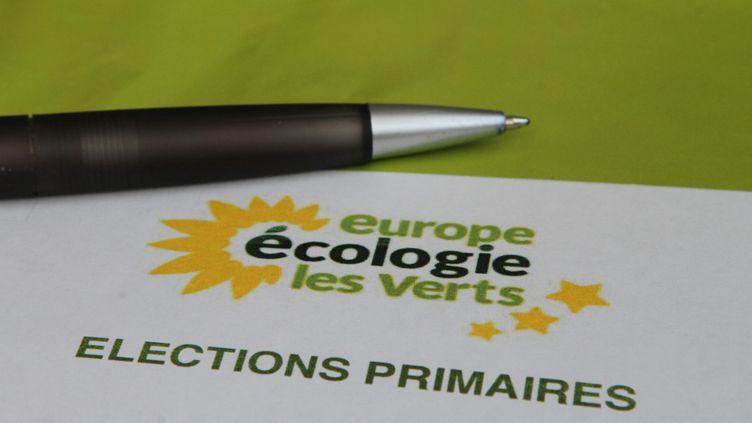 Les inscriptions en ligne pour participer à la primaire écolo ont été clôturées le 2 octobre 2016. (MAXPPP)