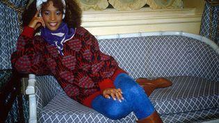 La chanteuse Whitney Houston en 1985 (RICHARD YOUNG / REX FEA / REX / SIPA)