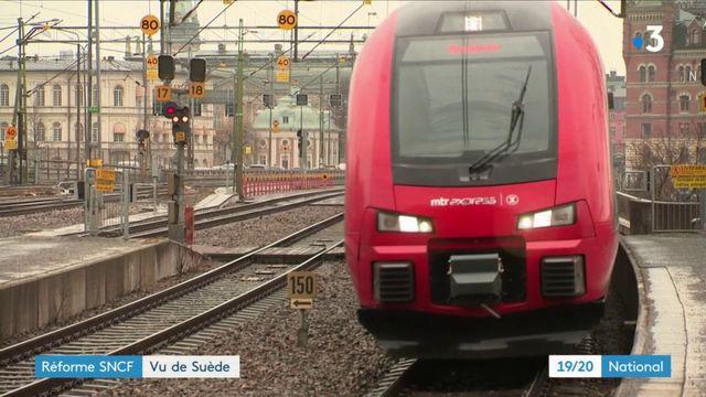 Réforme SNCF : comment l'expérience suédoise a tourné au vinaigre