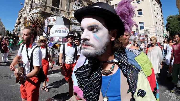 Parade Off du Festival d'Avignon 2016  (BORIS HORVAT / AFP)