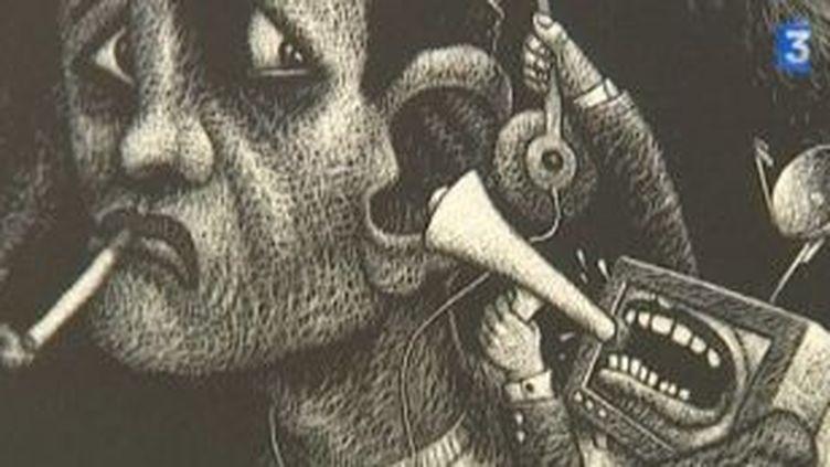 Emre Oroune,illustrateur inspiré  (Culturebox)