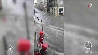 Reims à nouveau inondée le 21 juin 2021 (France 2)