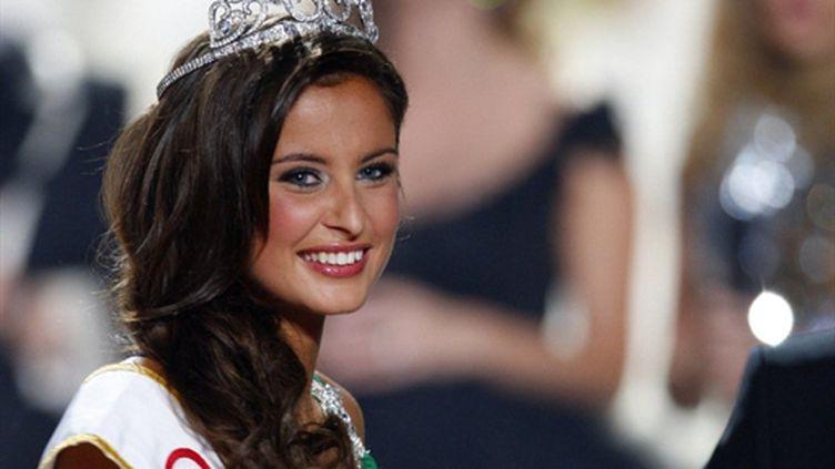 Miss France 2010, Malika Ménard (AFP/VALERY HACHE)