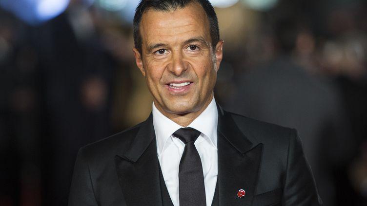 L'agent de footballeurs, le Portugais Jorge Mendes. (JACK TAYLOR / AFP)