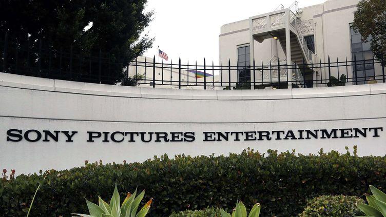 Le siège de Sony Pictures Entertainment, la division de Sony consacrée au cinéma, le 2 décembre 2014 à Culver City (Californie). (NICK UT / AP / SIPA )