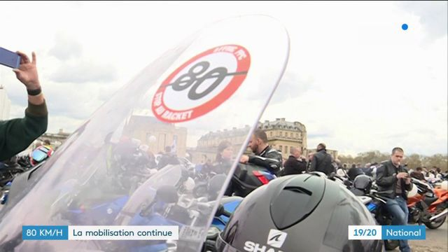 80 km/h : mobilisation des motards contre la limitation de vitesse