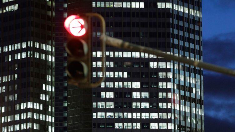 (Le siège de la Banque centrale européenne à Francfort © Maxppp)