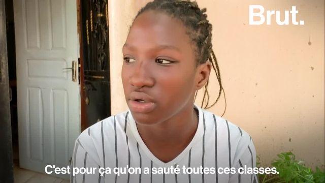 À seulement 13 ans, Aminata et Ramatoulaye Diaw sont les plus jeunes bachelières du Sénégal. Une première dans l'histoire du pays.