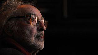 """Jean-Luc Godard revient à Cannes avec """"Adieu au langage""""  (FABRICE COFFRINI / AFP)"""