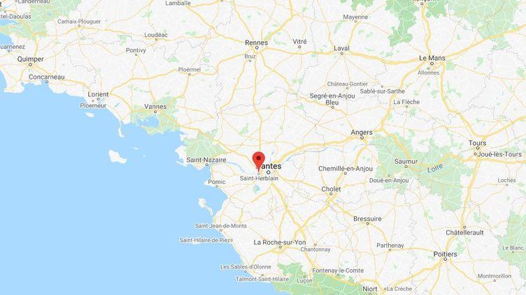 La jeune femme a été emmenée de force par sa famille àSaint-Herblain (Loire-Atlantique). (GOOGLE MAPS)