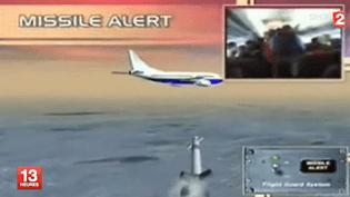 Les avions israéliens, pour la plupart, sont équipés d'un système antimissiles. ( FRANCE 2 / FRANCETV INFO)