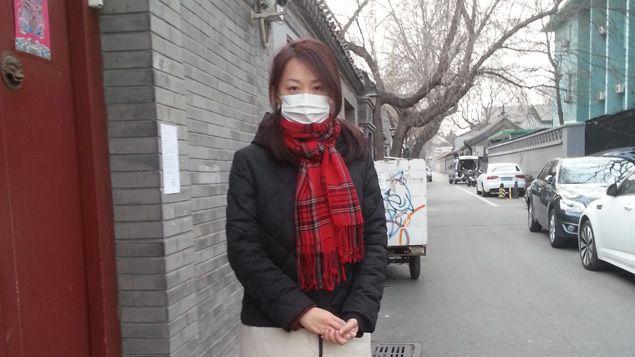 (Lee Yan qui travaille bureau de Greenpeace à Pékin © RF-Isabelle Raymond)