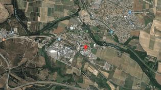 L'attaque a eu lieu sur le supermarché super-U de Trèbes (Aude). (GOOGLE MAPS)