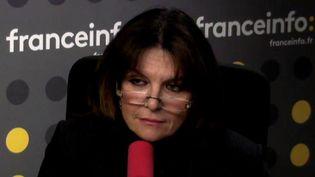 Nathalie Goulet, sénatrice UDI-UC de l'Orne et présidente de la commission d'enquête sur l'organisation et les moyens de lutte contre les réseaux jihadistes en France et en Europe. (FRANCEINFO)