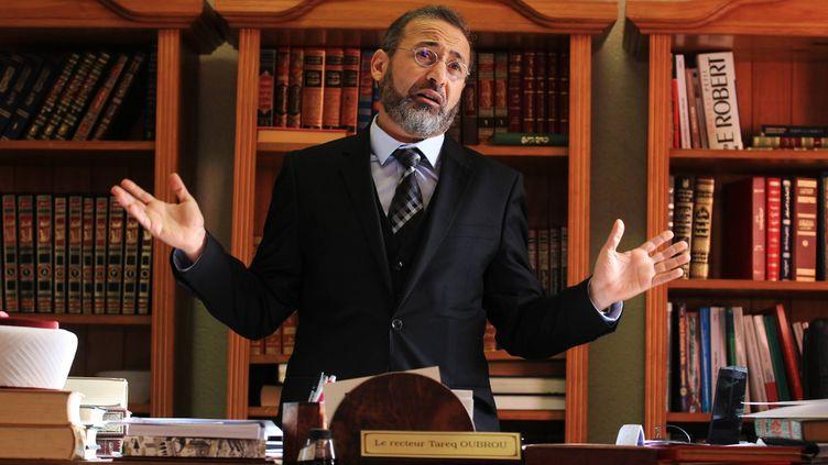 (Tareq Oubrou, recteur de la mosquée de Bordeaux © Maxppp)