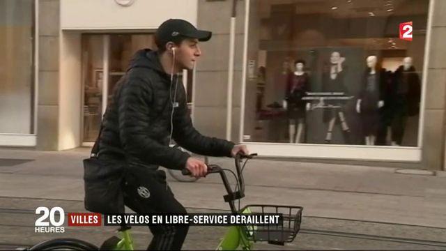Villes : les vélos en libre-service déraillent