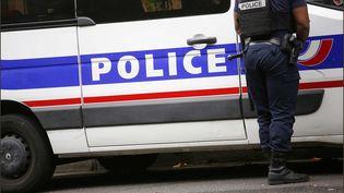 Voiture de police le 2 octobre 2017 à Paris. Image d'illustration. (MAXPPP)