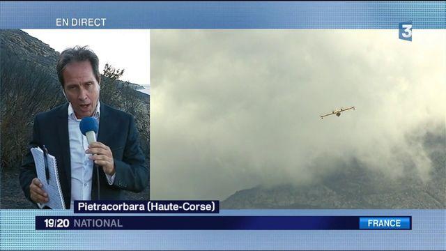 Haute-Corse : les pompiers restent vigilants