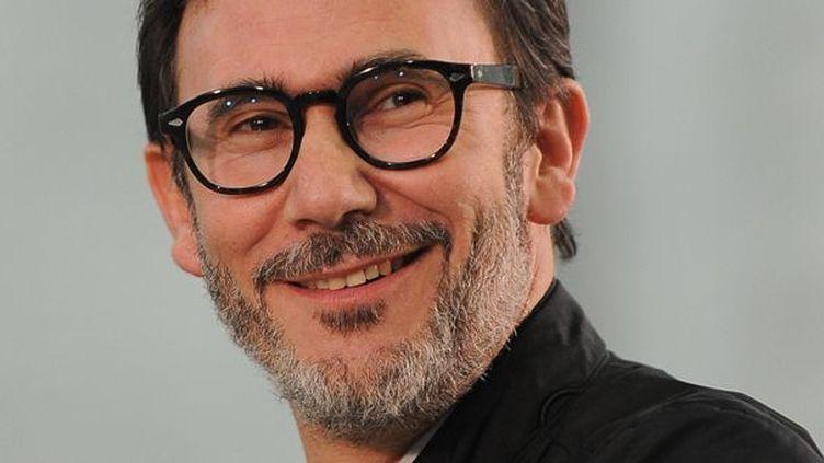 """Michel Hazanavicius, réalisateur de """"The Artist"""".  (Robyn Beck / AFP)"""