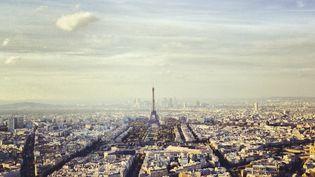 Une vue de la tour Eiffel postée sur le réseau social Instagram. (HAL BERGMAN / GETTY IMAGES)
