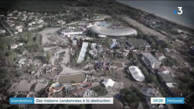 Inondations : destruction de maisons dans les Alpes-Maritimes