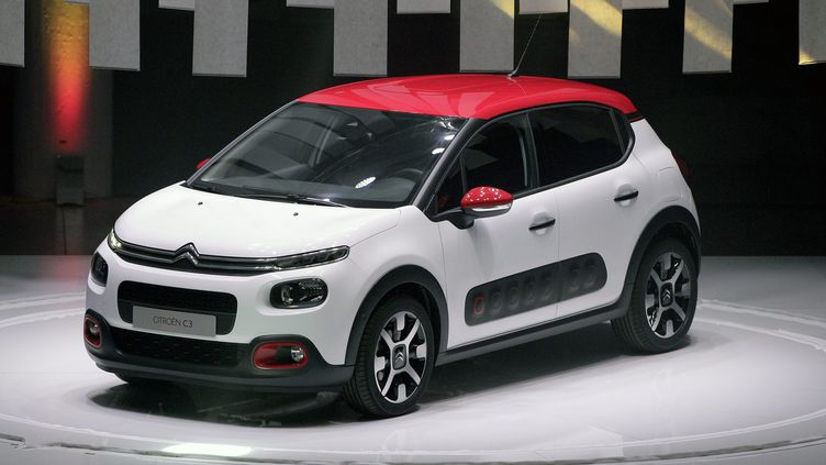 Présentation de la nouvelle Citroën C3 à Lyon, à la Sucrière le 29 juin 2016 (MAXIME JEGAT / MAXPPP)