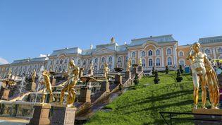 Le château de Peterhof, le Versailles Russe (WILLIAM VOLCOV / BRAZIL PHOTO PRESS)