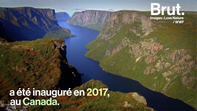 Le Canada a inauguré un parcours sans égal qui traverse le pays sur plusieurs milliers de kilomètres. (BRUT)