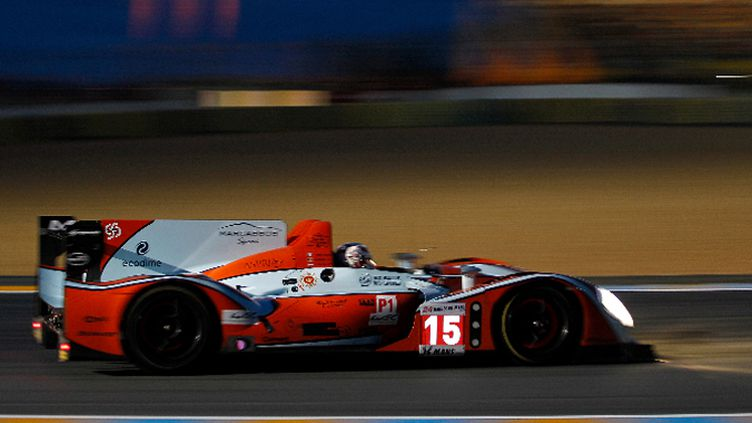 Franck Montagny sur la Pescarolo-Judd du Oak Racing
