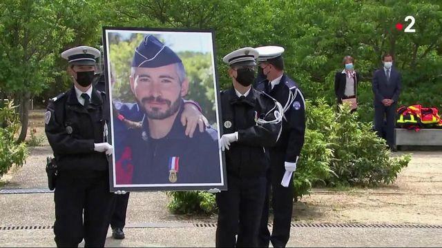 Policier tué à Avignon : un hommage national a été rendu à Éric Masson