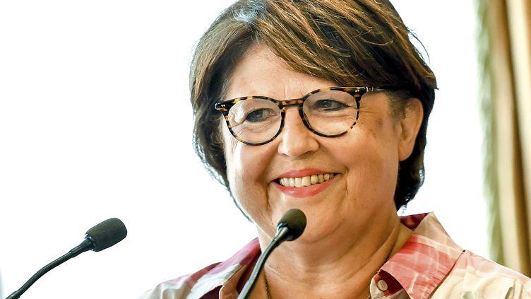 Martine Aubry, le 3 août 2018 à Lille (PHILIPPE HUGUEN / AFP)