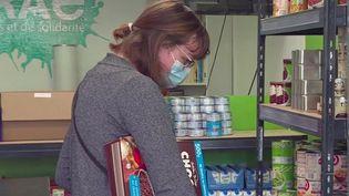 Amiens : Agoraé, l'épicerie solidaire qui vient en aide aux étudiants en difficulté (FRANCE 3)