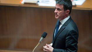 Manuel Valls à l'Assemblée nationale le 3 mai 2016   (CHAMUSSY / SIPA)