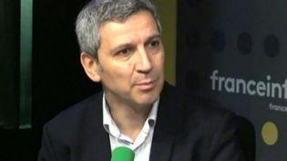 Christophe Najdovski, maire-adjoint de Paris chargé des transports et de l'espace public. (FRANCEINFO / RADIO FRANCE)