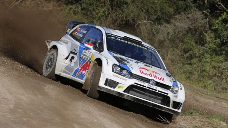 Jari-Matti Latvala (Volkswagen Polo-R WRC) (FRANCOIS BAUDIN / AUSTRAL)